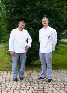 Meistervater Steffen Rach mit Meistersohn Pascal Rach